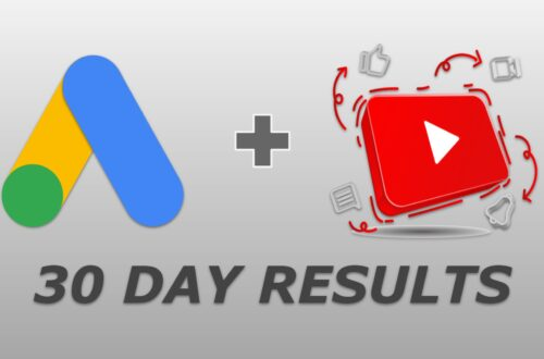 google ads 30 day results